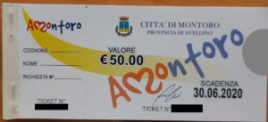 fasimile ticket Euro50